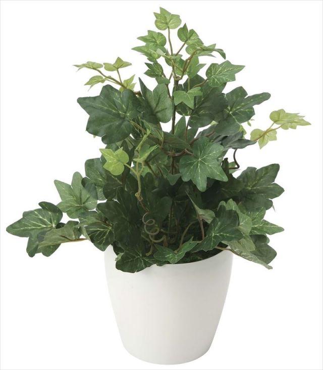 光触媒 光の楽園 ヘデラアイビー 【インテリアグリーン 人工観葉植物】 (2039a30)
