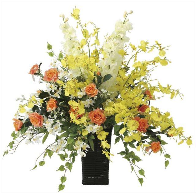 光触媒 光の楽園 ピーチライン 【アートフラワー 造花 】 (2056a180)