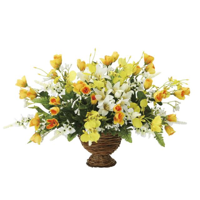 光触媒 光の楽園 ゴールデンワイド 【アートフラワー 造花 】 (2073a50)