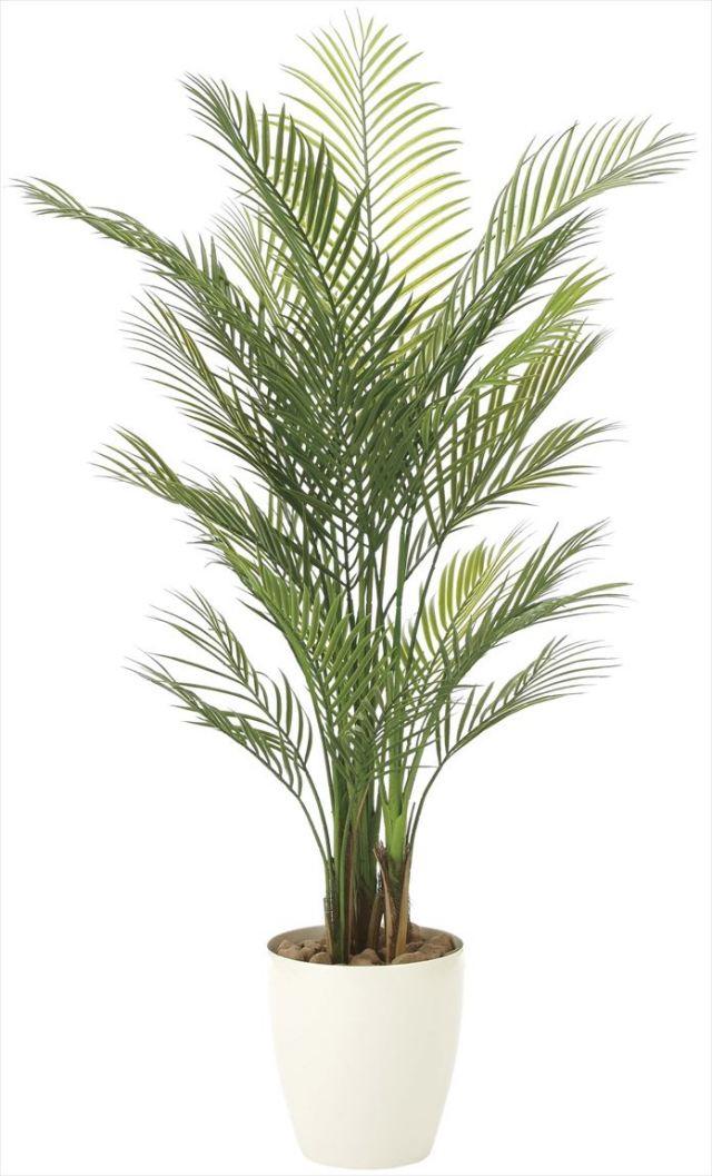光触媒 光の楽園 アレカパーム 高さ 1.5m 【インテリアグリーン 大型 人工観葉植物】 (2108a370)