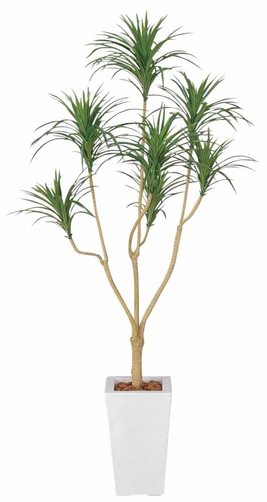光触媒 光の楽園ユッカ 高さ 1.75m【インテリアグリーン 大型 人工観葉植物】(352a370)