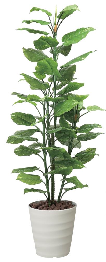 光触媒 光の楽園フレッシュポトス 高さ 1.8m【インテリアグリーン 大型 人工観葉植物】(354a300)