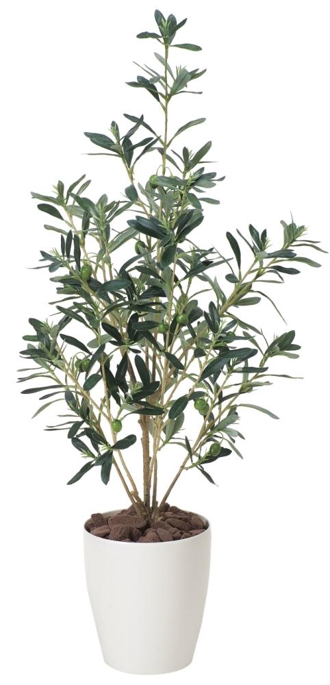 光触媒 光の楽園オリーブ90【インテリアグリーン 人工観葉植物】(378a100)