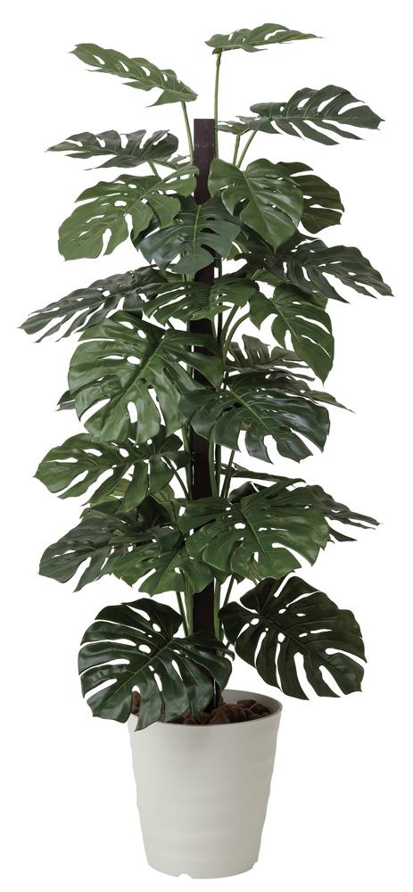 光触媒 光の楽園 モンステラ 高さ 1.8m 【インテリアグリーン 大型 人工観葉植物】 (403g450)