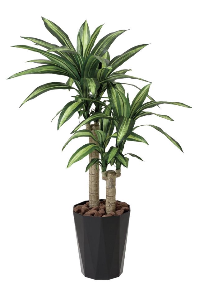 光触媒 光の楽園 幸福の木 高さ 1.1m 【インテリアグリーン 人工観葉植物】 (406g200)