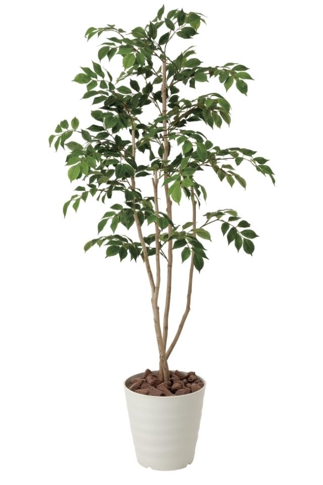 光触媒 光の楽園マウンテンアッシュ1.3m【インテリアグリーン 人工観葉植物】(424a200)