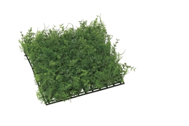 光触媒 光の楽園ミニユーカリミックスマット【インテリアグリーン 人工観葉植物】(443e40)
