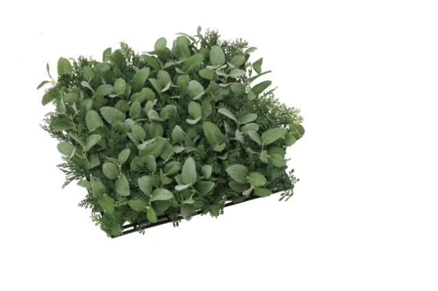 光触媒 光の楽園ハーブナチュラルマット【インテリアグリーン 人工観葉植物】(444b50/444a40)