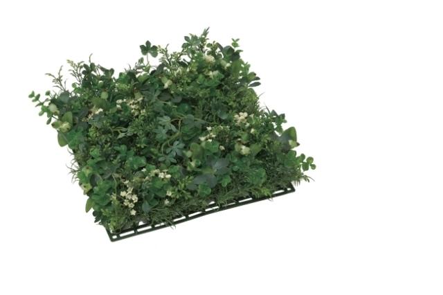 光触媒 光の楽園グリーンミックスマット【インテリアグリーン 人工観葉植物】(445b50/445a40)