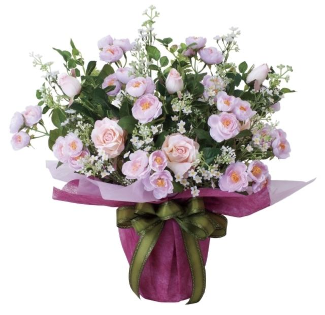 光触媒 光の楽園アイスルピンク【アートフラワー 造花 】(464a80)