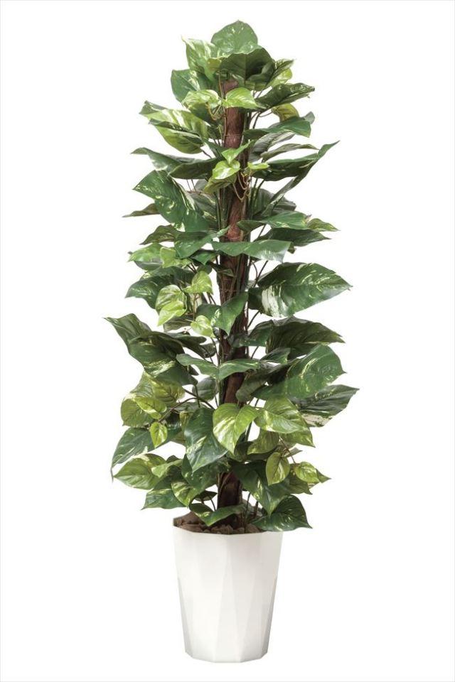 光触媒 光の楽園ポトス1.35m【インテリアグリーン 人工観葉植物】(511a250)