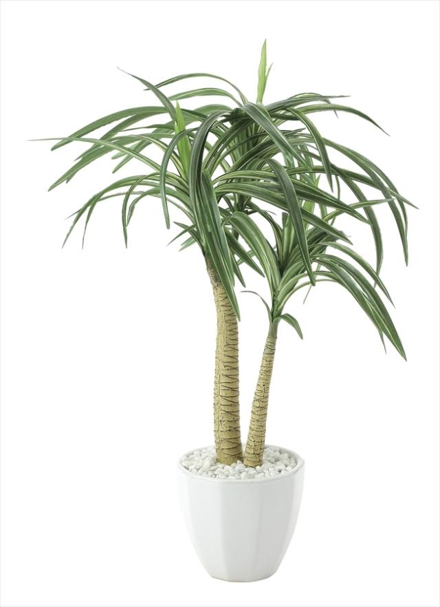 光触媒 光の楽園ユッカ【インテリアグリーン 人工観葉植物】(630a80)