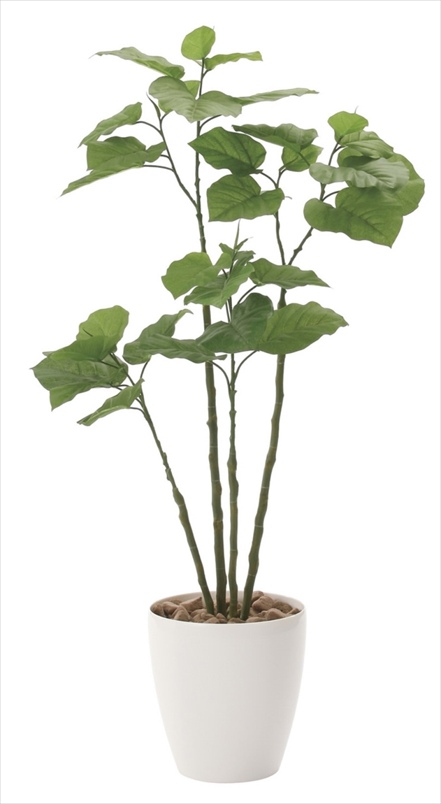<2017新作>光触媒 光の楽園ブランチウンベラータ1.15m【インテリアグリーン 人工観葉植物】(721a230)
