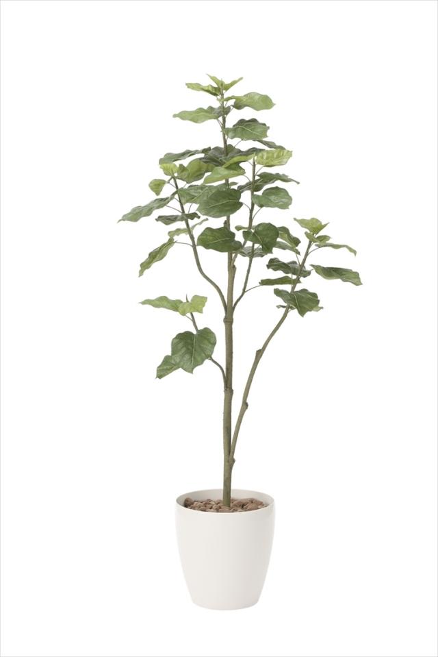 光触媒 光の楽園ウンベラータツリー 高さ 1.8m【インテリアグリーン 大型 人工観葉植物】(805a430)