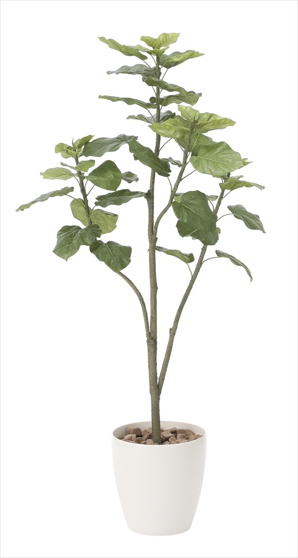 光触媒 光の楽園ウンベラータツリー 高さ 1.5m【インテリアグリーン 大型 人工観葉植物】(806a300)