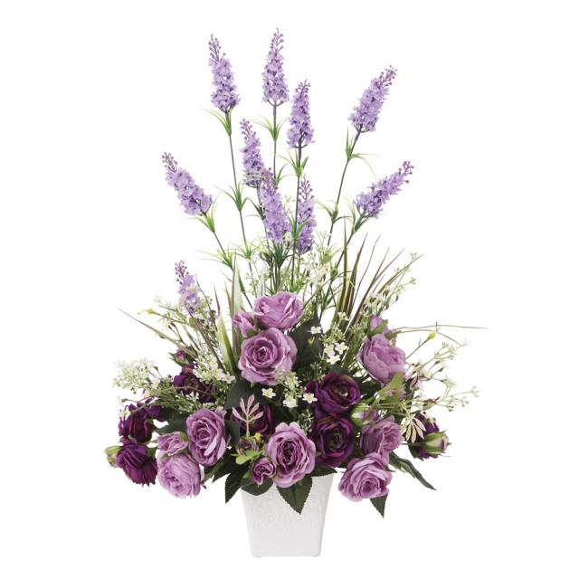 光触媒 光の楽園ソフィアラベンダー【アートフラワー 造花 】(※ラッピング不可)(842a90)