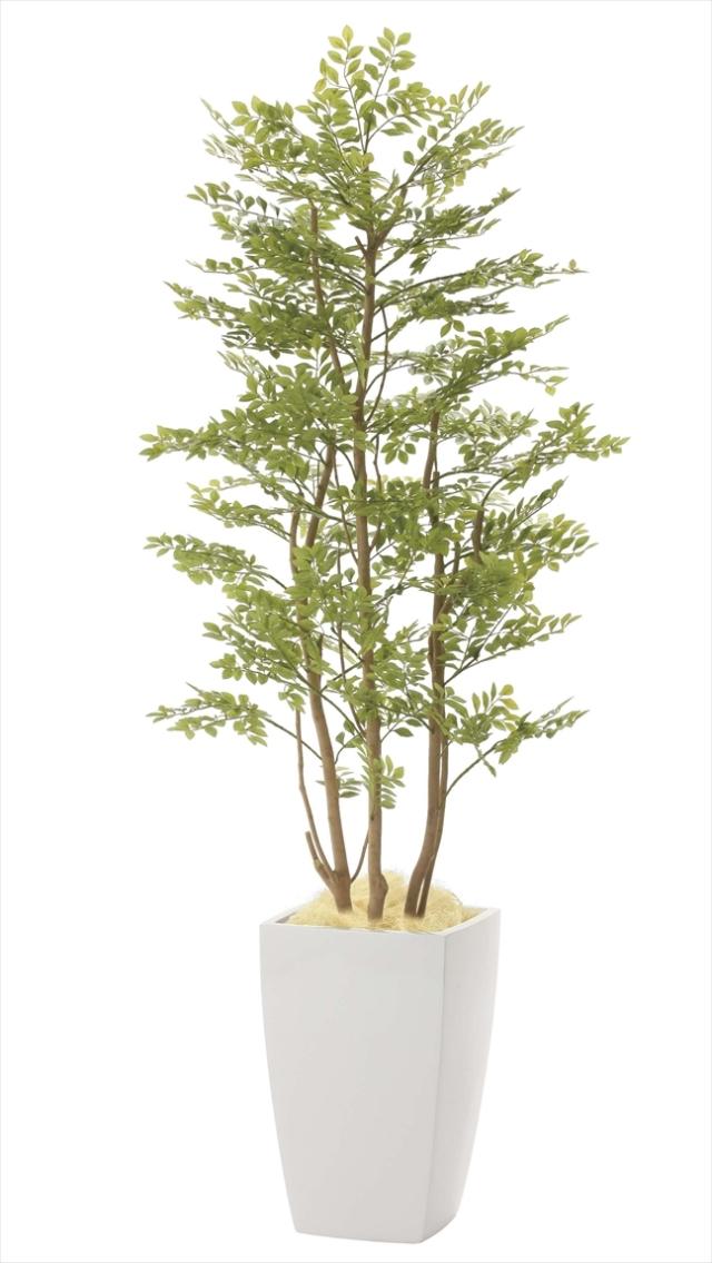 光触媒 光の楽園アーバンゴールデンリーフ 高さ 1.8m【インテリアグリーン 大型 人工観葉植物】(940a680)
