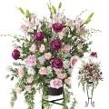 光触媒 光の楽園ニコルローズスタンド【アートフラワー 造花 】(10a600)