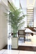光触媒 光の楽園トロピカルアレカパーム 2.3m【インテリアグリーン 人工観葉植物】(125e650)
