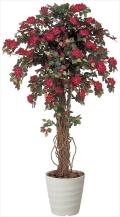 光触媒 光の楽園ブーゲンビリア 1.8m【インテリアグリーン 人工観葉植物】(137c650)
