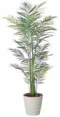 光触媒 光の楽園トロピカルアレカパーム 2.1m【インテリアグリーン 人工観葉植物】(142e480)