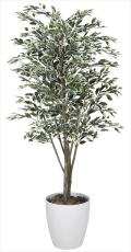 光触媒 光の楽園ベンジャミンツリー斑入り 1.6m【インテリアグリーン 人工観葉植物】(153c380)