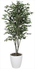 光触媒 光の楽園ベンジャミンツリー 1.8m【インテリアグリーン 人工観葉植物】(157c480)