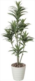 光触媒 光の楽園ドラセナコンパクタ 1.25m【インテリアグリーン 人工観葉植物】(185c180)