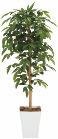 光触媒 光の楽園アルデシア 1.2m【インテリアグリーン 人工観葉植物】(188a180)