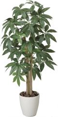 光触媒 光の楽園パキラ 1.0m【インテリアグリーン 人工観葉植物】(199a150)