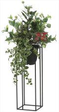 光触媒 光の楽園 グリーンスタンドプミラ 高さ 1m 【インテリアグリーン 人工観葉植物】 (2004a300)