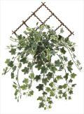 光触媒 光の楽園 壁掛け斑入りアイビー 【インテリアグリーン 人工観葉植物】 (2043a40)