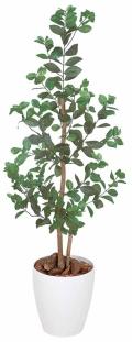 光触媒 光の楽園オリエンタルフィカス 1.15m【インテリアグリーン 人工観葉植物】(204a150)