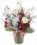 光触媒 光の楽園 スプレンドローズ 【アートフラワー 造花 】 (2062a85)