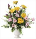 光触媒 光の楽園 プリムローズ 【アートフラワー 造花 】 (2063a80)