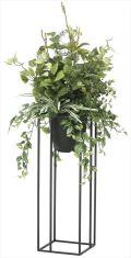 光触媒 光の楽園 ミックスグリーンスタンド 高さ 1.1m 【インテリアグリーン 人工観葉植物】 (2095a350)
