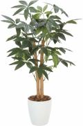 光触媒 光の楽園パキラ 90【インテリアグリーン 人工観葉植物】(209a100)