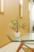 光触媒 光の楽園黒竹【インテリアグリーン 人工観葉植物】(238a30)