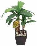 光触媒 光の楽園バナナ【インテリアグリーン 人工観葉植物】(※ラッピング不可)(242a50)