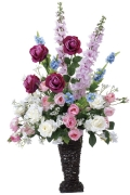 光触媒 光の楽園マリポーサ【アートフラワー 造花 】(305a200)