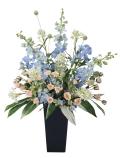 光触媒 光の楽園スイートブルー【アートフラワー 造花 】(ラッピング不可)(306a300)