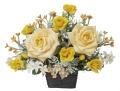 光触媒 光の楽園ダカールローズ【アートフラワー 造花 】(325a50)