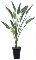 光触媒 光の楽園ストレチア1.6m【インテリアグリーン 人工観葉植物】(363c240)
