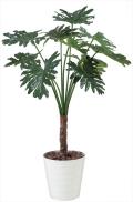光触媒 光の楽園セローム1.3m【インテリアグリーン 人工観葉植物】(365c250)