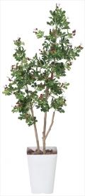 光触媒 光の楽園ハックルベリー1.25m【インテリアグリーン 人工観葉植物】(366c220)