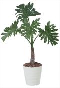 光触媒 光の楽園セローム1.0m【インテリアグリーン 人工観葉植物】(376c150)