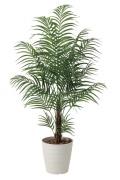 光触媒 光の楽園 アレカパーム 高さ 1.5m 【インテリアグリーン 大型 人工観葉植物】 (410g320)