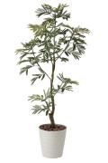 光触媒 光の楽園ねむの木1.55m【インテリアグリーン 人工観葉植物】(419a280)