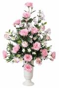 光触媒 光の楽園ポールスピンク【アートフラワー 造花 】(ラッピング不可)(41a80)