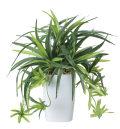 光触媒 光の楽園ドラセナ角ポット【インテリアグリーン 人工観葉植物】(438a60)